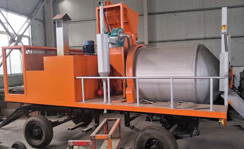 黑河小型沥青料搅拌及再生料设备