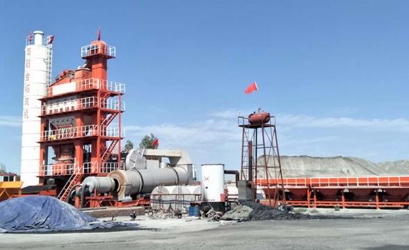 黑河LQB4000型沥青混合料搅拌设备