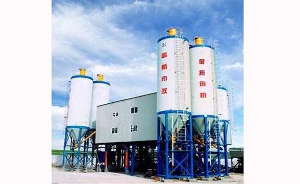 HZS120型水泥混合料搅拌设备