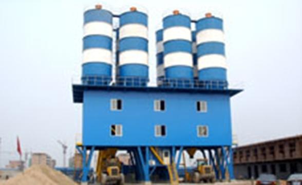 120型水泥混合料搅拌设备