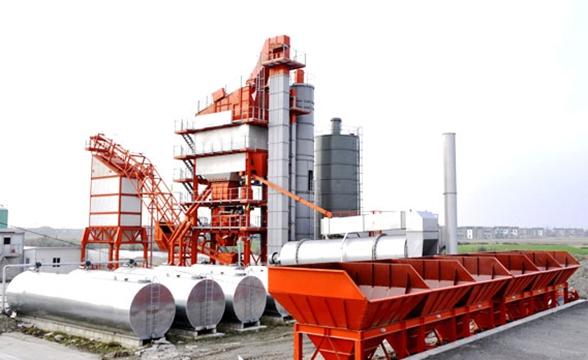 LQB5000强制式沥青混合料搅拌设备