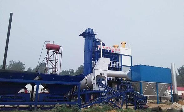 襄阳LQB2000强制式沥青混合料搅拌设备